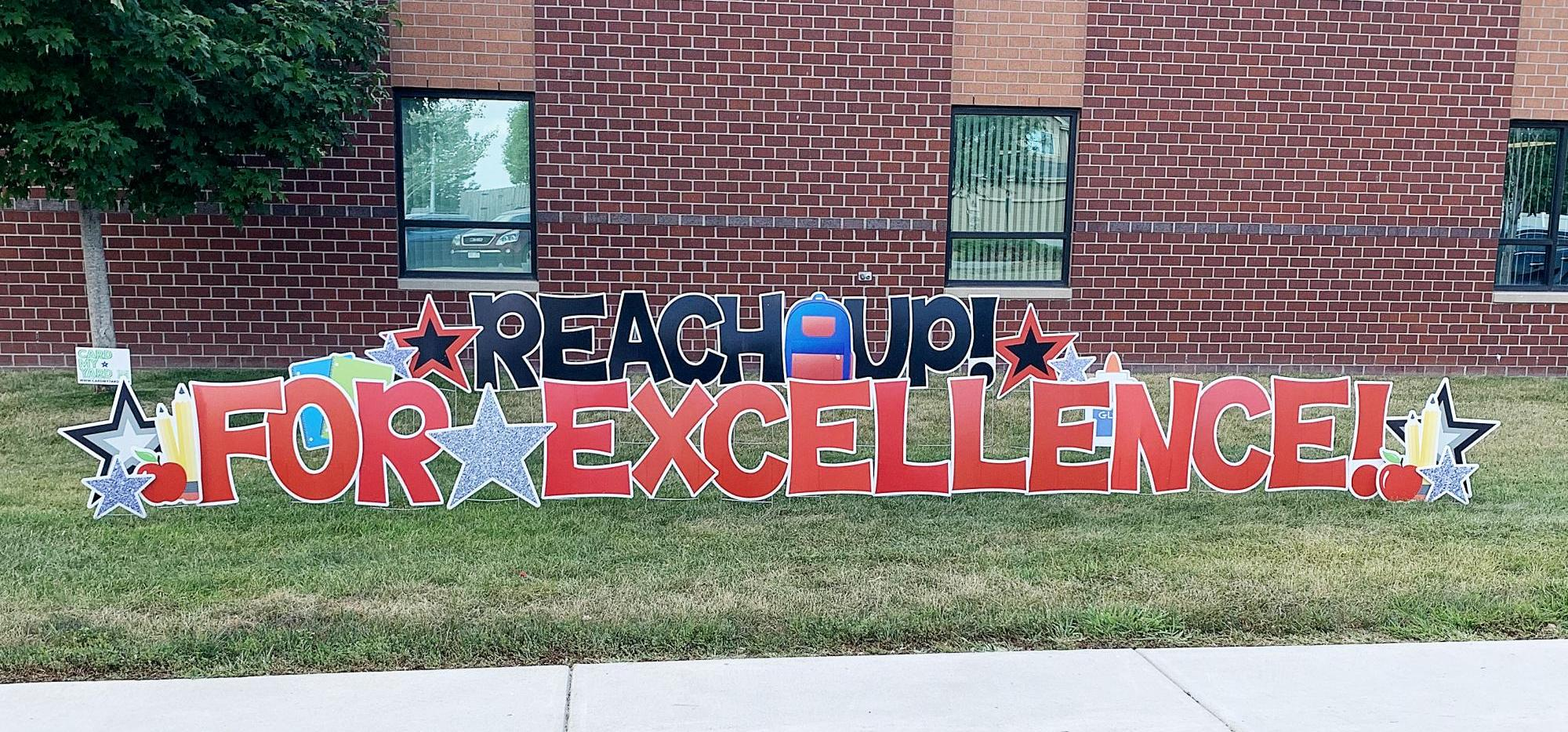 Photo of Reach Up for Excellence